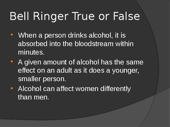 Alcohol, Tobacco, and other Drugs POWERPOINTS