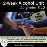Alcohol Lessons: This 2-Week Alcohol Unit has 10 Engaging Lessons