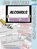 Organic Chemistry Alcohols Activity Worksheet Doodle Notes