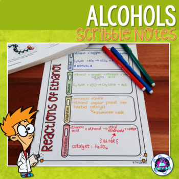 Alcohols Organic Chemistry Worksheets & Teaching Resources | TpT