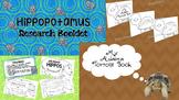 Aldabra Tortoise & Hippopotamus Research Booklets Bundle