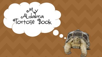 Aldabra Tortoise Research Project/Booklet