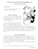 Aldo Applesauce Literature Guide