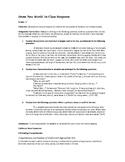 Aldous Huxley's Brave New World: In-class Essay Response Prompts (Exam)