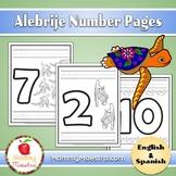Alebrije Number Pages (1 - 10)