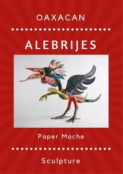 Alebrije Paper Mache Sculpture