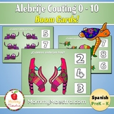 Alebrije Spanish Counting Boom Cards