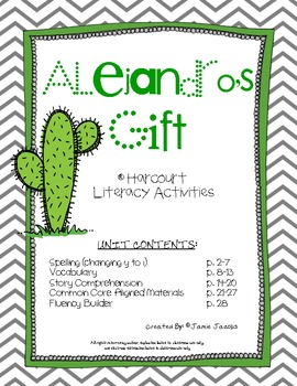 Alejandro's Gift (Harcourt Supplemental Materials)