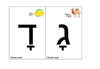 Aleph- Bet Hebrew Alphabet