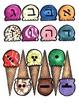 Hebrew Ice Cream Aleph Bet Cone Reading game