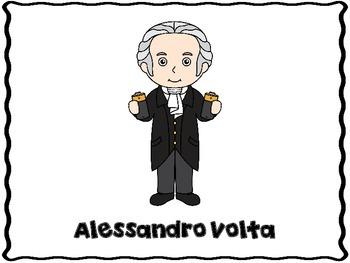 Alessandro Volta  (Inventor Report Graphic Organizers)