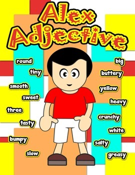Alex Adjective Poster