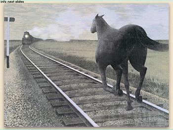 Alex Colville Art SHOW + TEST = 178 Slides magic realism Canada