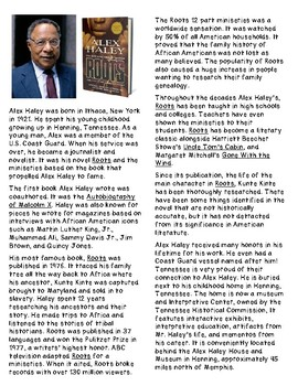 Alex Haley: Roots and His Influence on American Culture