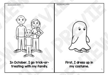 Alex Says Trick-or-Treat:  A Social Story