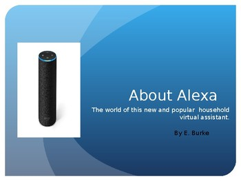 Alexa, And Artificial Intelligence