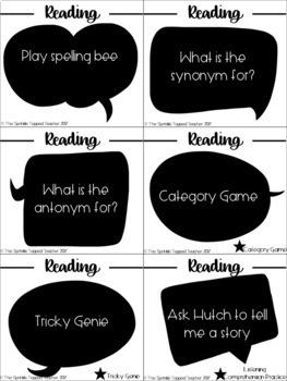 Alexa Echo Dot Editable Question Cards