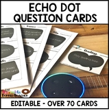 Alexa Echo Dot Editable Question Cards