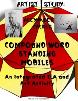 Alexander Calder Compound Word Standing Mobiles