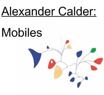 Alexander Calder: Mobiles - SMARTboard