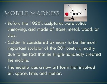 Alexander Calder Power Point (Mobiles and Wire Sculptures)
