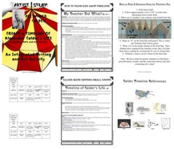 Alexander Calder Timeline