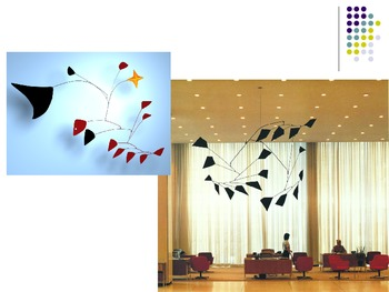 Alexander Calder and his MOBILES: PowerPoint, entrance and exit ticket