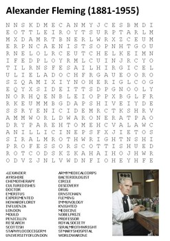 Alexander Fleming Word Search