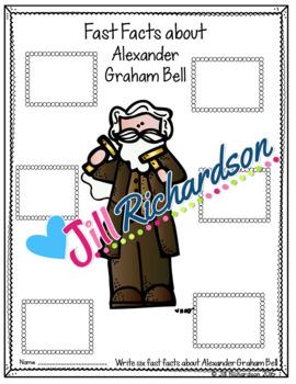 Alexander Graham Bell Writing