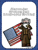 Alexander Graham Bell Biography Writing Tab Book