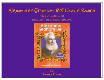Alexander Graham Bell Choice Board from Pearson Scott Fore
