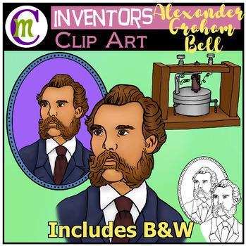Alexander Graham Bell Clip Art