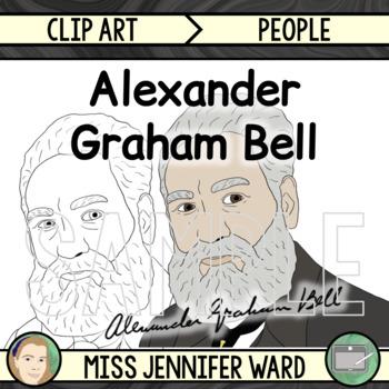 Alexander Graham Bell Clipart