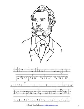 Alexander Graham Bell Coloring BookLevel B by WriteBonnieRose TpT