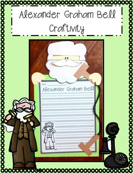 Alexander Graham Bell Craftivity