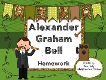 Alexander Graham Bell Homework - Scott Foresman 1st Grade