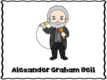 Alexander Graham Bell (Inventor Report Graphic Organizers)