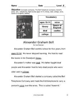 Alexander Graham Bell - Inventor of the Telephone