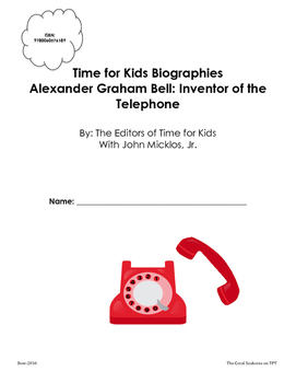 Alexander Graham Bell: Inventor of the Telephone Time for Kids Biographies