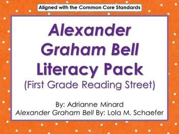 Alexander Graham Bell Literacy Pack for First Grade Foresm