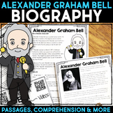 Alexander Graham Bell Reading Passage, Biography Report & Comprehension