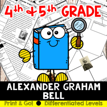 Alexander Graham Bell Reading and Writing Activity (SS5H1, SS5H1b)