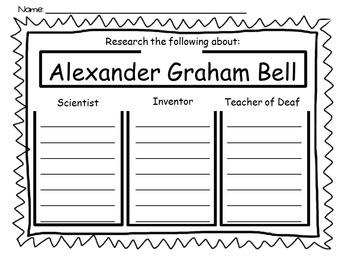 Alexander Graham Bell ~ Research