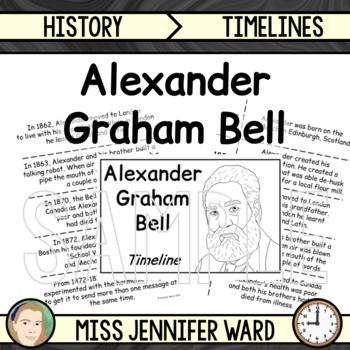 Alexander Graham Bell Timeline Activity