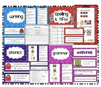 Alexander Graham Bell Unit 5 Week 5 Common Core Literacy Centers