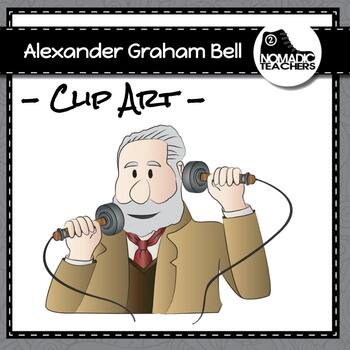 Telephone Alexander Graham Bell Clip Art
