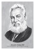 Alexander Graham Bell - original illustration