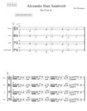 Alexander Ham Sandwich (4 Part Round) - 2nd Year String