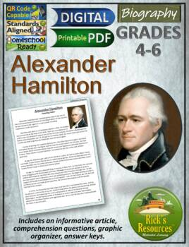 Alexander Hamilton Reading Comprehension