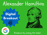 Alexander Hamilton - Digital Breakout! (Escape Room, Brain Break)